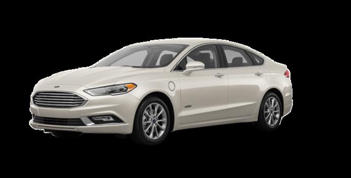2017 Ford Fusion Energi TITANIUM | Photo 6 | White Gold