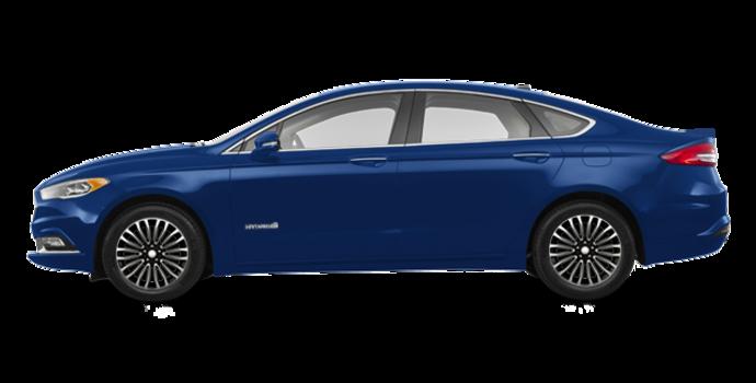 2017 Ford Fusion Hybrid TITANIUM | Photo 4 | Lightning Blue
