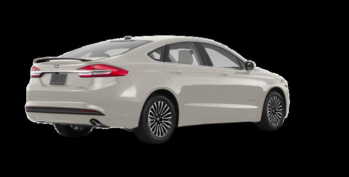 2017 Ford Fusion Hybrid TITANIUM | Photo 5 | White Gold