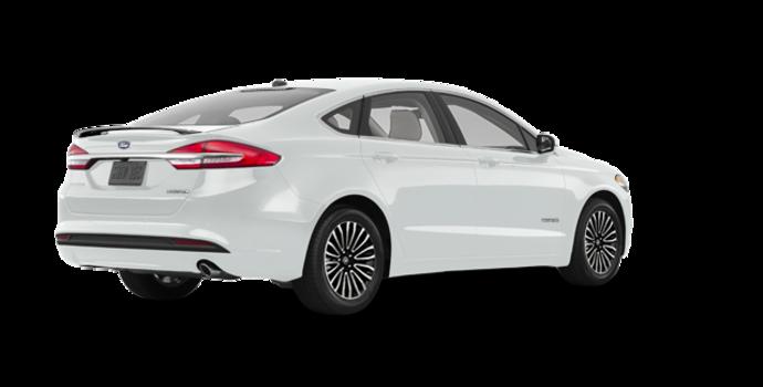 2017 Ford Fusion Hybrid TITANIUM | Photo 5 | White Platinum