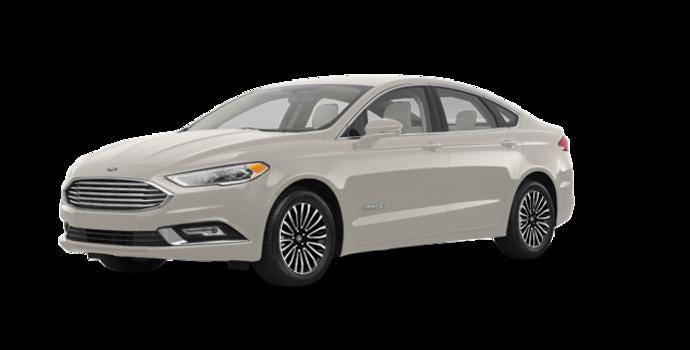 2017 Ford Fusion Hybrid TITANIUM | Photo 6 | White Gold