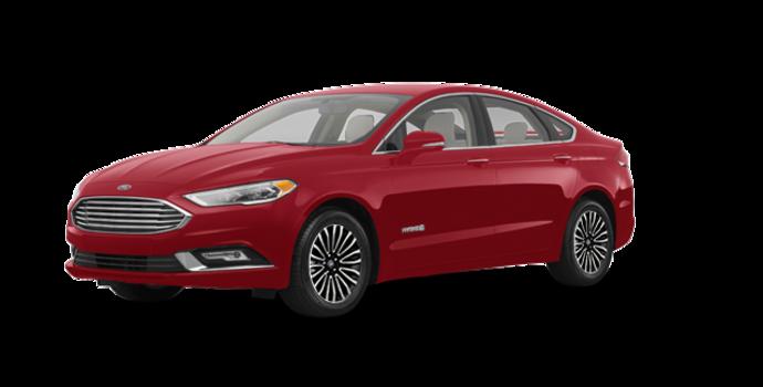 2017 Ford Fusion Hybrid TITANIUM | Photo 6 | Ruby Red