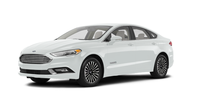 2017 Ford Fusion Hybrid TITANIUM | Photo 6 | White Platinum