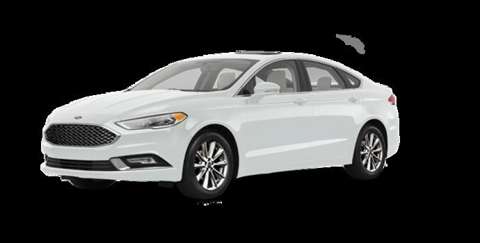 2017 Ford Fusion PLATINUM | Photo 6 | White Platinum