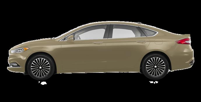 2017 Ford Fusion TITANIUM | Photo 4 | White Gold