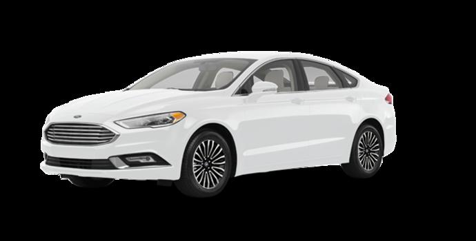 2017 Ford Fusion TITANIUM | Photo 6 | Oxford White