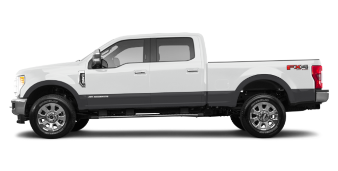 2017 Ford Super Duty F-350 LARIAT | Photo 4 | Oxford White/Magnetic