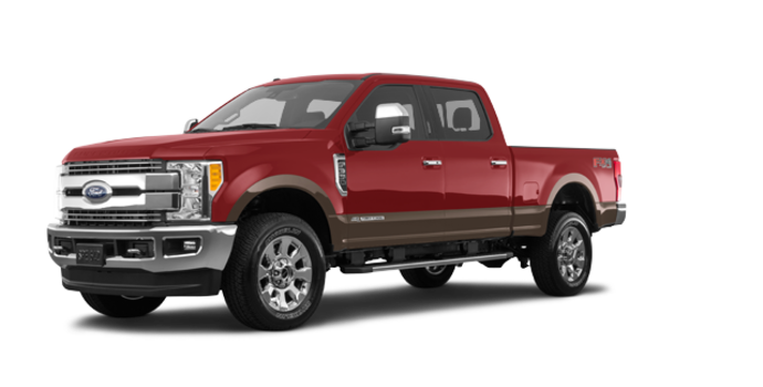 2017 Ford Super Duty F-350 LARIAT | Photo 6 | Ruby Red/Caribou