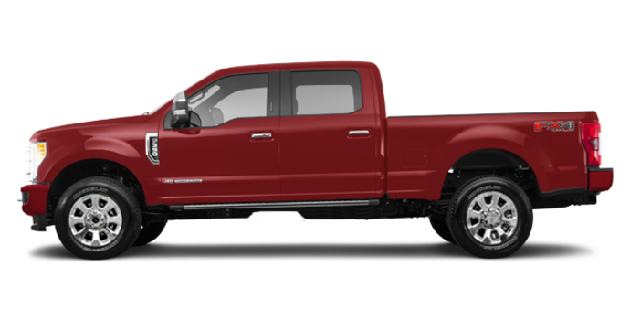 2017 Ford Super Duty F-350 PLATINUM | Photo 4 | Ruby Red