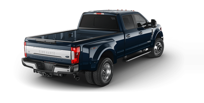 2017 Ford Super Duty F-450 KING RANCH | Photo 5 | Blue Jeans Metallic
