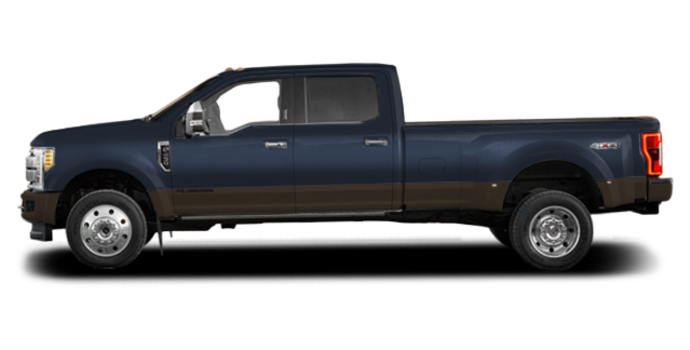 2017 Ford Super Duty F-450 KING RANCH | Photo 4 | Blue Jeans Metallic/Caribou