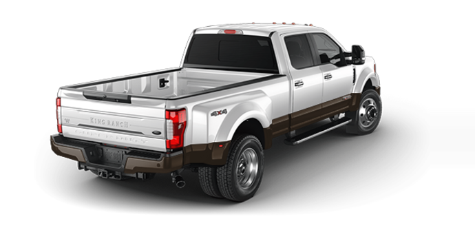2017 Ford Super Duty F-450 KING RANCH | Photo 5 | Oxford White/Caribou