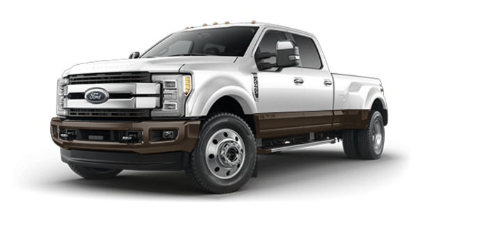 2017 Ford Super Duty F-450 KING RANCH | Photo 6 | Oxford White/Caribou