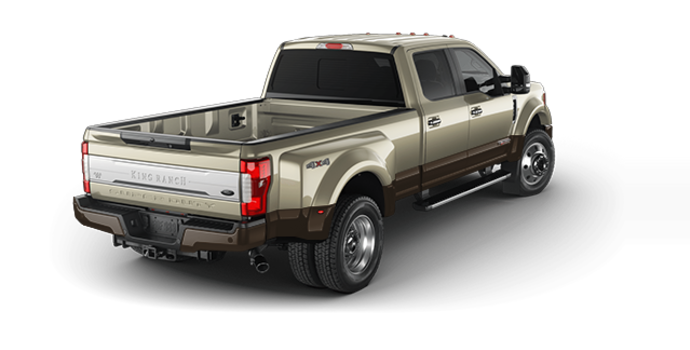 2017 Ford Super Duty F-450 KING RANCH | Photo 5 | White Gold Metallic/Caribou