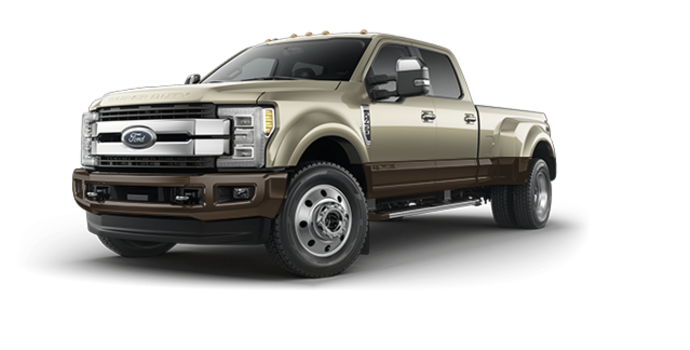 2017 Ford Super Duty F-450 KING RANCH | Photo 6 | White Gold Metallic/Caribou