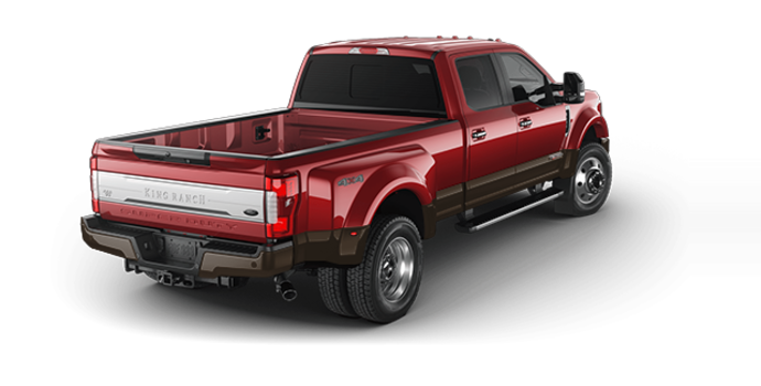 2017 Ford Super Duty F-450 KING RANCH | Photo 5 | Ruby Red/Caribou