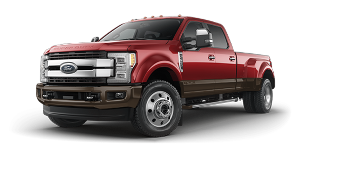 2017 Ford Super Duty F-450 KING RANCH | Photo 6 | Ruby Red/Caribou