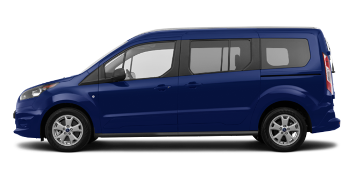 2017 Ford Transit Connect XLT WAGON | Photo 4 | Deep Impact Blue