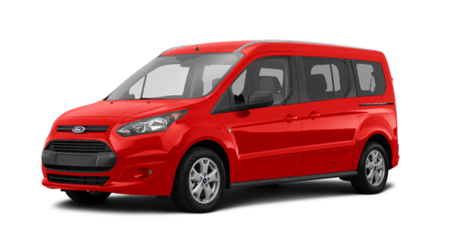2017 Ford Transit Connect XLT WAGON | Photo 6 | Race Red