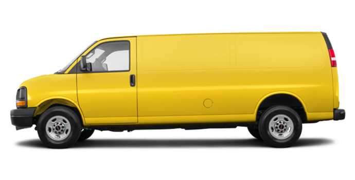 2017 GMC Savana 2500 CARGO   Photo 4   Wheatland Yellow