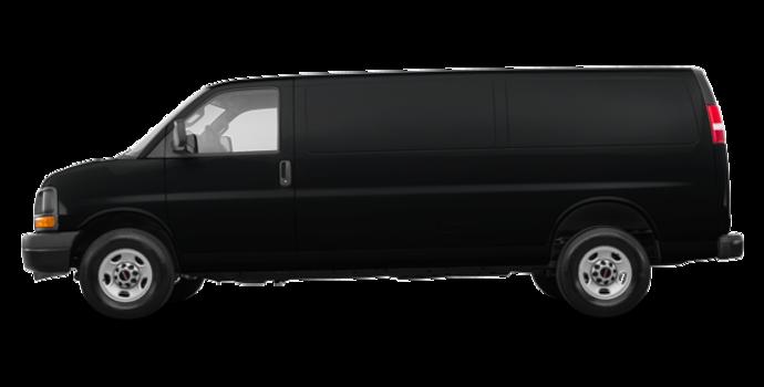 2017 GMC Savana 2500 CARGO   Photo 4   Black Onyx