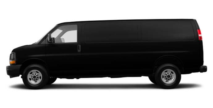 2017 GMC Savana 3500 CARGO | Photo 4 | Black Onyx