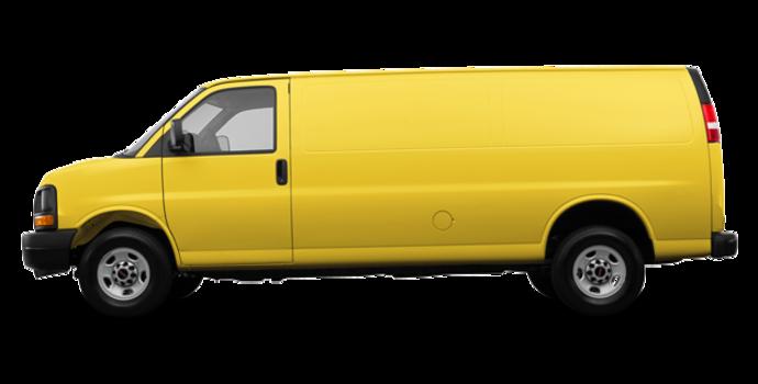 2017 GMC Savana 3500 CARGO | Photo 4 | Wheatland Yellow