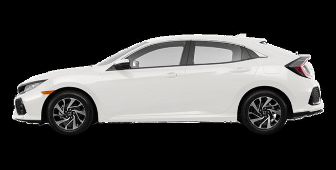 2017 Honda Civic hatchback LX HONDA SENSING | Photo 4 | White Orchid Pearl