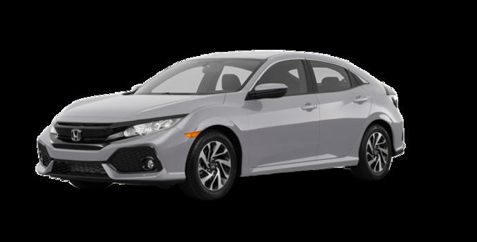 2017 Honda Civic hatchback LX | Photo 6 | Lunar Silver Metallic
