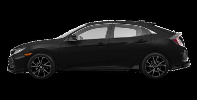 2017 Honda Civic hatchback SPORT   Photo 4   Crystal Black Pearl