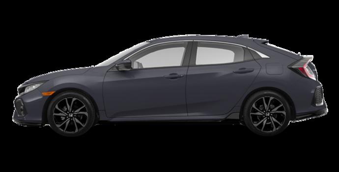2017 Honda Civic hatchback SPORT   Photo 4   Polished Metal Metallic