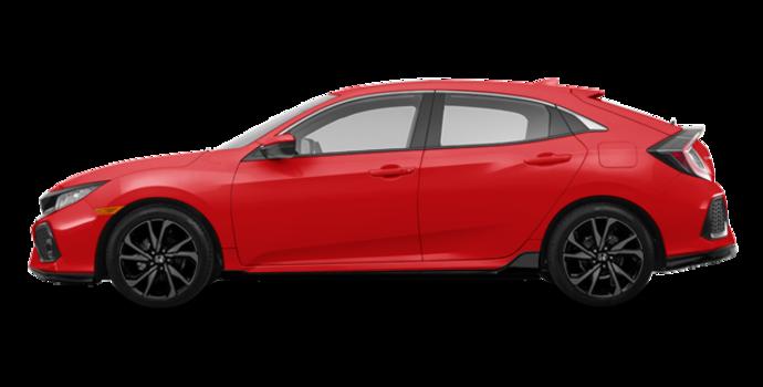 2017 Honda Civic hatchback SPORT   Photo 4   Rallye Red