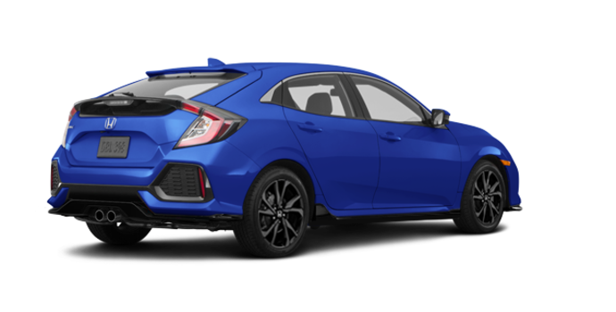 2017 Honda Civic hatchback SPORT   Photo 5   Aegean Blue Metallic