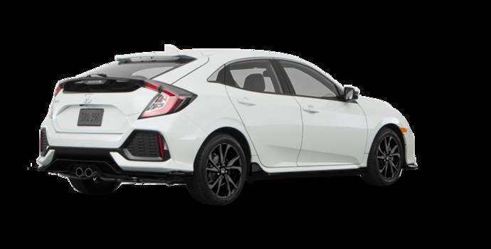 2017 Honda Civic hatchback SPORT   Photo 5   White Orchid Pearl