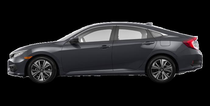 2017 Honda Civic Sedan EX-T | Photo 4 | Modern Steel Metallic