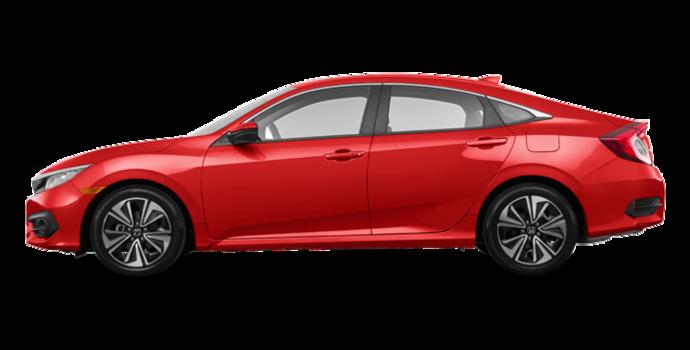 2017 Honda Civic Sedan EX-T | Photo 4 | Rallye Red