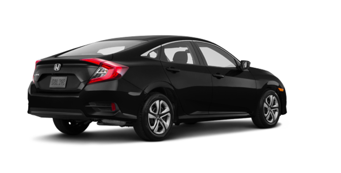 2017 Honda Civic Sedan LX-HONDA SENSING | Photo 5 | Crystal Black Pearl
