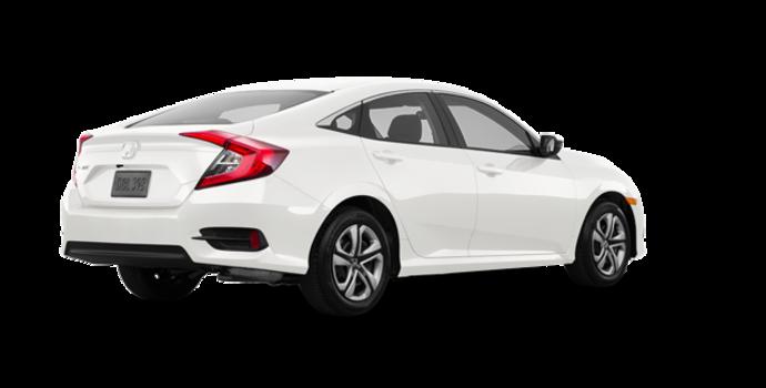 2017 Honda Civic Sedan LX-HONDA SENSING | Photo 5 | Taffeta White