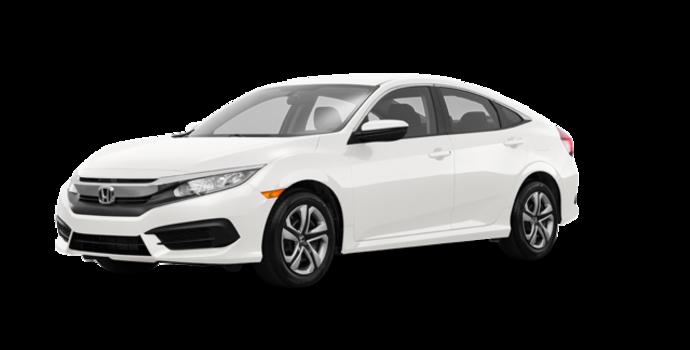 2017 Honda Civic Sedan LX-HONDA SENSING | Photo 6 | Taffeta White