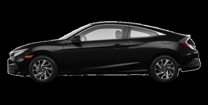 2017 Honda Civic Coupe LX-HONDA SENSING | Photo 4 | Crystal Black Pearl
