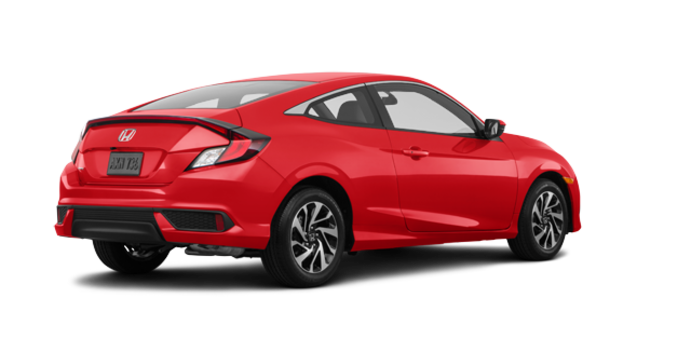 2017 Honda Civic Coupe LX-HONDA SENSING | Photo 5 | Rallye Red