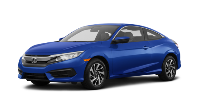 2017 Honda Civic Coupe LX-HONDA SENSING | Photo 6 | Aegean Blue Metallic