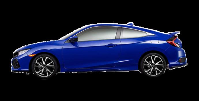2017 Honda Civic Coupe SI | Photo 4 | Aegean Blue Metallic