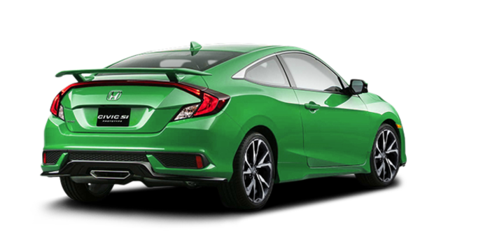 2017 Honda Civic Coupe SI | Photo 5 | Energy Green Pearl
