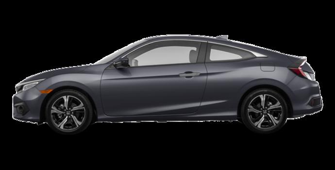 2017 Honda Civic Coupe TOURING | Photo 4 | Modern Steel Metallic