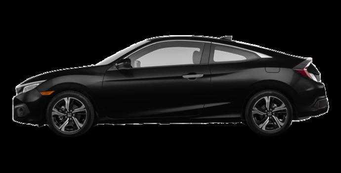 2017 Honda Civic Coupe TOURING | Photo 4 | Crystal Black Pearl