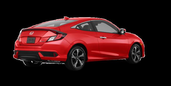 2017 Honda Civic Coupe TOURING | Photo 5 | Rallye Red