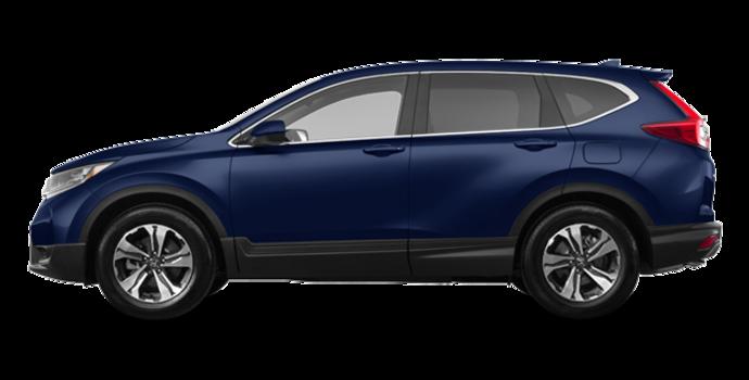 2017 Honda CR-V LX   Photo 4   Obsidian Blue Pearl