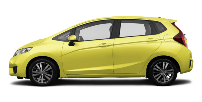 2017 Honda Fit EX-L NAVI   Photo 4   Mystic Yellow Pearl