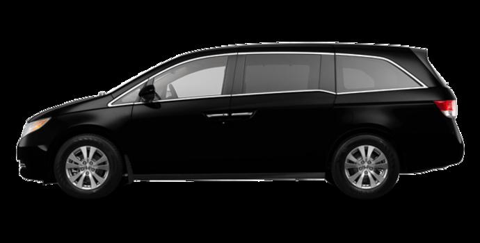 2017 Honda Odyssey EX-L NAVI | Photo 4 | Crystal Black Pearl